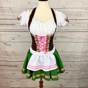 Bavarian Biergarten Girl Halloween Costume
